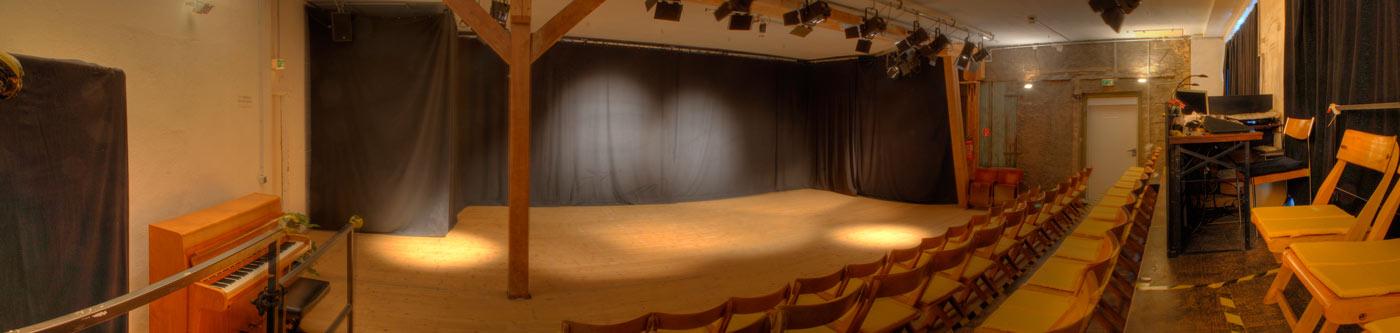 Das Theateratelier 14H - der Veranstaltungs- und Proberaum