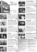 Programm Theateratelier 2003 Herbst