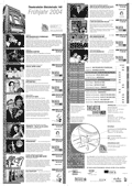 Programm Theateratelier 2004 Fruehjahr
