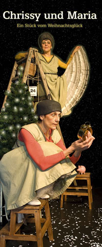 Das Kindertheater-Stück Chrissy und Maria für Kinder von 5 bis 10 Jahren