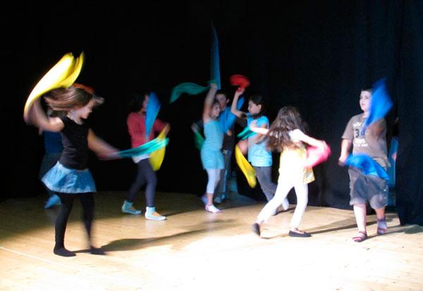 Projekt Telc im Theateratelier 14H