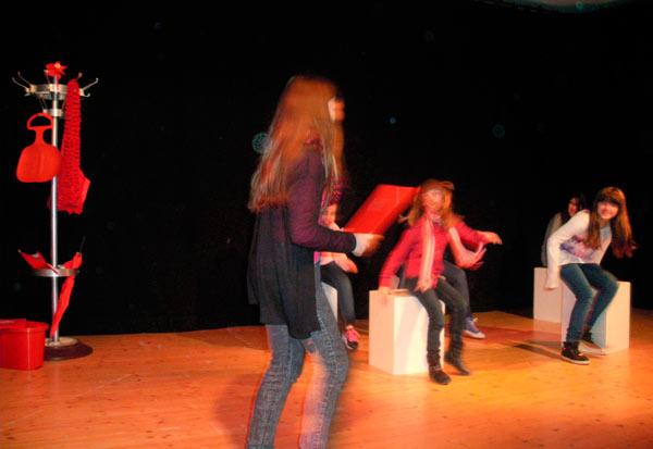 TUSCH Projekt 1 im Theateratelier 14H